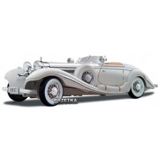Автомодель Maisto (1:18) Mercedes-Benz 500 K Typ Specialroadster (1936) Macharadga (36055 white) Белый