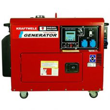 Дизельный генератор Kraftwele SDG9800S 1F ATS